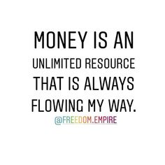 Repeat after me: Money is an unlimited resource that is always flowing my way. Drop me an emoji once youve journaled this out 11 times!!  .  Come join us in the Freedom Queens Collective private Facebook group. A group for Freeqs (ladies only) to connect with each other and to provide a place to share your feelings concerns questions seek and provide support advice tips and tricks. A place to learn grow together and empower one another - our very own personal cheer squad! - on our journey to…