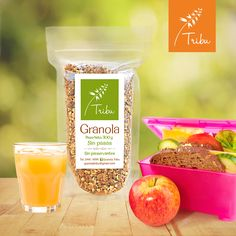¡Nuestra granola no puede faltar en la merienda de sus niños! Candle Jars, Candles, Granola, Products, Foods, Afternoon Snacks, Step By Step, Muesli, Candy