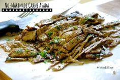 No Marinade Carne Asada!