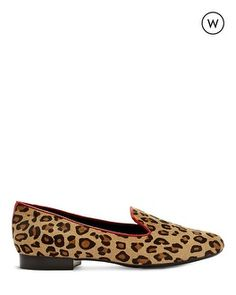 Chico's Aleen Wide Animal Loafer #chicos