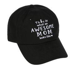 Awesome Mom Ball Cap - Ava Grace Fashions