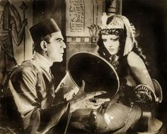 boris karloff and zita johann, the mummy, 1932 my favorite scary movie: