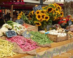 Market  AixenProvence South of France  8x10 by TiffanyDawnPhoto, $30.00