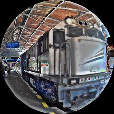 Economic train #lokomotif