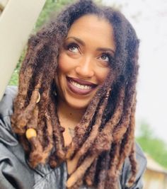 """The Home of Locs — """"Gratitude has this funny way of canceling out the. Pretty Dreads, Beautiful Dreadlocks, Dreadlock Styles, Dreads Styles, Sisterlocks, Short Locs Hairstyles, Black Hairstyles, Girl Hairstyles, Wedding Hairstyles"""