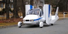 Flying car will be on sale within a year. A US firm announced the successful test flight of a street-legal plane. $279,000 #flyingcar