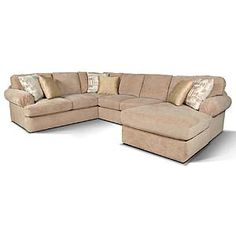 England Abbie Sectional Sofa with Right Chaise - 8250-64+43+05  sc 1 st  Pinterest : cardis sectionals - Sectionals, Sofas & Couches