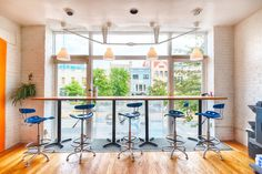 """Cove, Washington, D.C. - """"neighborhood spaces with a community of people being productive together"""" - They offer unlimited wifi, printing, scanning and coffee in spaces designed to facilitate productivity. Such a cool concept! Cove seems especially perfect for students, job seekers and entrepreneurs who are just getting started."""