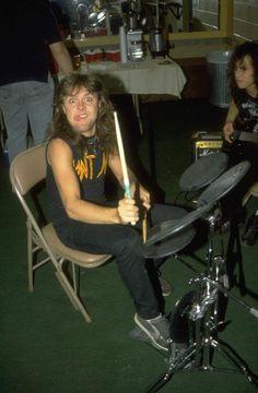Metallica Homemade Drum, Metallica Art, Metallica Funny, Kirk Hammett, Halestorm, Bob Seger, Thrash Metal, Best Shows Ever, Cool Bands