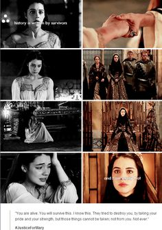 Amazing scene and kudos to both Adelaide Kane & Megan Fellows for truly emotional and difficult scene.