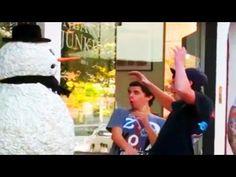 Funny - Funny Snowman Prank - Season 3 Episode 1
