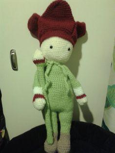 Tulip Theo made by Sarah K  - crochet pattern by Zabbez