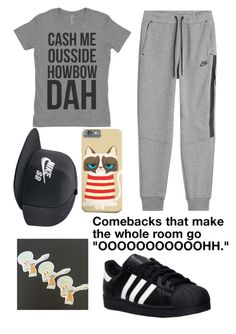 """MEME LORD"" by cupakeartist30 ❤ liked on Polyvore featuring interior, interiors, interior design, home, home decor, interior decorating, NIKE and adidas"