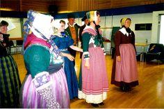 Danish folk costumes