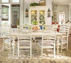 Paula Deen Home Formal Dining Room Group by Paula Deen by Universal