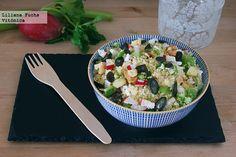 Ensalada crujiente de cuscús. Receta saludable  http://paraadelgazar.ws/ensalada-crujiente-de-cuscus-receta-saludable/ Salud y Bienestar