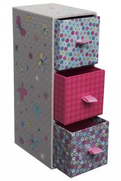 WHSmith Maisey & Daisy Mini Tower Drawers