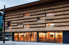 Yusuhara Marche is a Thatch-Covered Market & Boutique Hotel In Japan | Inhabitat - Sustainable Design Innovation, Eco Architecture, Green Building