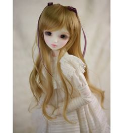 1/3 1/4 1/6 BJD / SD doll wig high temperature wire curls Taobao F132-