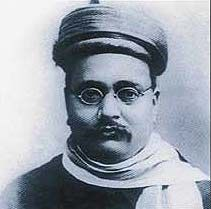 Late Hon Gopal Krishna Gokhale leader in  founding of Indian Independence Movement and mentor of Mahatma Gandhi