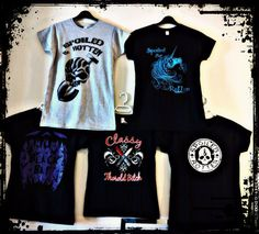 Spoiled & Rotten Tshirts by GRAVEGEAR on Etsy, $26.00