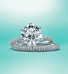 """64.5k Likes, 428 Comments - Tiffany & Co. (@tiffanyandco) on Instagram: """"Pavé perfection. #TiffanySetting Browse the link in our bio. #TiffanyEngagement"""""""