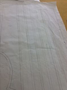 Trace off each master to make the final patterns. Add a 1cm seam allowance to every where that it is needed