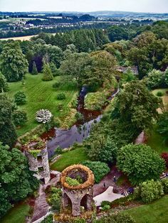 Atop Blarney Castle, Cork, Ireland. If you only get to visit ONe place in Ireland, I would totally vote for Blarney. (and go down the road to the Thrift shoppe)