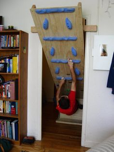 Find rock climbing routes, photos, and guides for every state, along with real-life experiences and advice from fellow climbers. Home Climbing Wall, Rock Climbing Gym, Pull Out Sofa Bed, Bouldering Wall, Lumber Storage, Woody, Wall Design, Woodworking, Homes