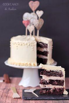 Layer Cake de Chocolate, Kinder y Avellana