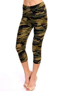 Plus Size Women S Bicycle Clothing Gauze Clothing, Camouflage Jeans, Bicycle Clothing, Plus Size Leggings, Army Green, Plus Size Women, Capri Pants, Things To Sell, My Style