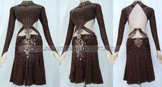 Custom-made latin dance dresses