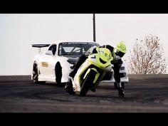 Já vimos diversas provas de drift, agora carro x moto é raro...no caso uma Kawasaki ZX10 versus um Mazda RX7 equipado com motor Corvette. O engraçado fica por conta de uma câmera instalada em um carro de controle-remoto. Vejam...