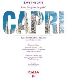 #invitation #isaia