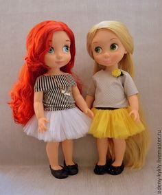 Купить Топы с юбками для куклы Дисней/Disney. - кукла дисней, одежда для кукол, disney, дисней