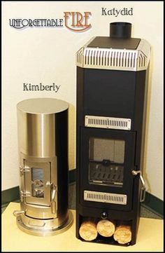 Great woodstoves for tiny houses! Kimberly and Katydid EPA Wood Stoves