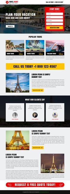 51 best Responsive Landing Page Designs images on Pinterest Page