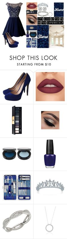 """It's kind of fun doing the impossible"" by aesthetic-goals ❤ liked on Polyvore featuring Nicholas Kirkwood, John Lewis, Badgley Mischka, OPI, Sterling Forever and Frederic Sage"