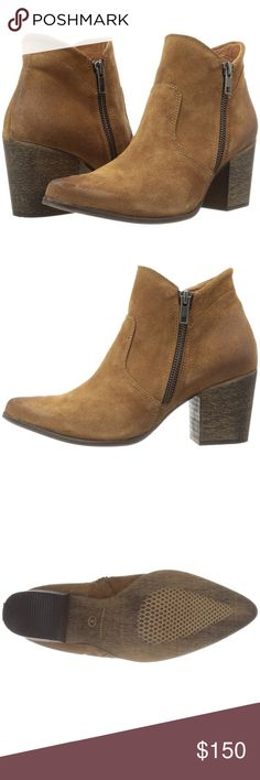 """🆕 Freebird """"Rock"""" ankle boot This is such a beautiful boot! Brand new, I am selling for a friend (who has too little time to Posh, gasp!) and if only they were my size I would be buying straight from her. All leather, handmade shoe, and the color is """"tan suede."""" Wear with all your boho Free People favorites! 😊 Authentic, by Steven for Steve Madden. Steven by Steve Madden Shoes Ankle Boots & Booties"""