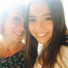 Kelly Ripa and Lola Consuelos