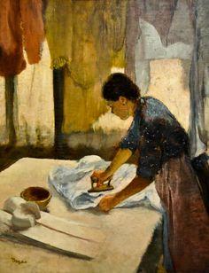 Edgar Degas「Woman Ironing」