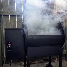 This is for you, Mr Pork Loin #smoker #traeger Reposted Via @carljagt