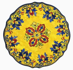 """Seville Dinner Plate, 11"""" Round, $15.75 each, from Le Cadeaux"""