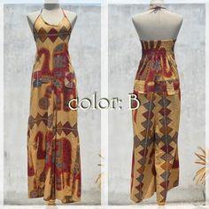 #hippiefashion salopette pants -color B-