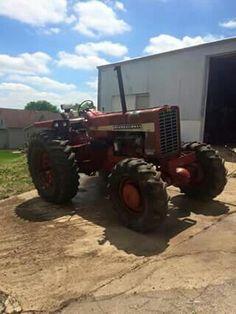 FWD IH 1256 International Tractors, International Harvester, Biggest Truck, Old Tractors, Ih, Big Trucks, Farming, Tractors, Tractor