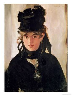 Berthe Morrisot painted by Manet