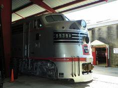 Museum of Transportation - St. Louis, Missouri  9939A Burlington Route Locomotive.