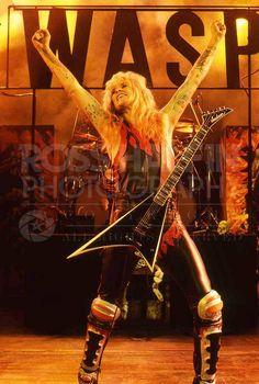 The Country Club Los Angeles, 1985 - WASP (Chris Holmes)