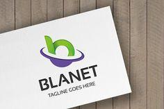 Blanet Letter B Logo by tkent on @creativemarket