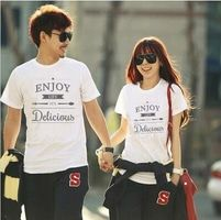 KKK011 Kaos Couple Enjoy Life T-Shirt.Baju Couple #Kaos #Kaoscouple #couple #love #travel #baju #bajucouple